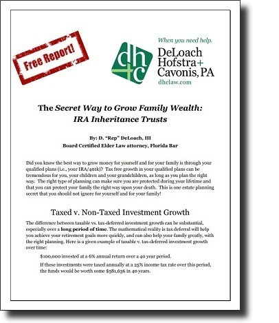 The Secret Way to Grow Family Wealth: IRA Inheritance Trusts