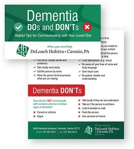 Dementia Do's and Don'ts: Helpful Tips for Communicating with Your Loved One