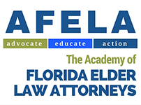 Logo Recognizing DeLoach, Hofstra & Cavonis, P.A.'s affiliation with the Academy of Florida Elder Law Attorneys