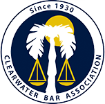 Logo Recognizing DeLoach, Hofstra & Cavonis, P.A.'s affiliation with the Clearwater Bar Association