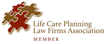 Logo Recognizing DeLoach, Hofstra & Cavonis, P.A.'s affiliation with Life Care Planning Law Firms Association