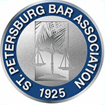 Logo Recognizing DeLoach, Hofstra & Cavonis, P.A.'s affiliation with the St. Petersburg Bar Association